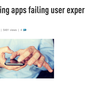 Banking apps failing user experience test