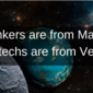 Bankers Are From Mars…