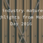 An industry matured: highlights from Mobey Day 2016
