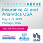 Insurance AI and Analytics USA (May 2-3, Chicago, USA)